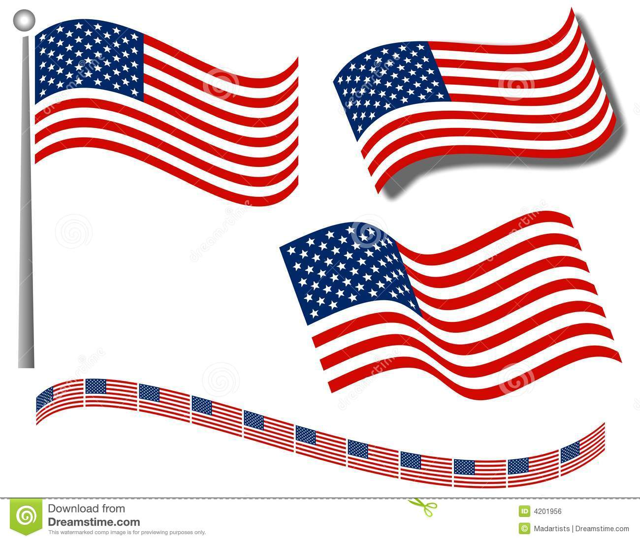 1300x1101 American Flag Clipart Wavy