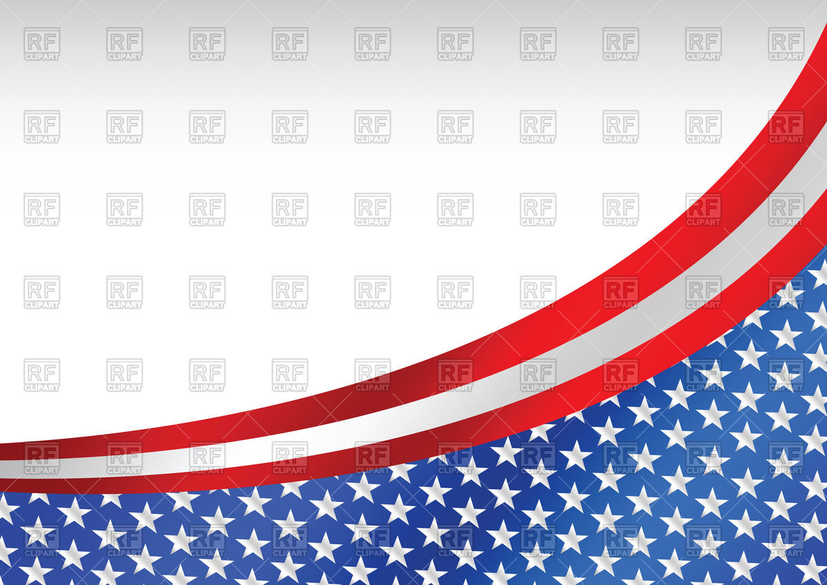 1200x848 Background With Usa Flag Royalty Free Vector Clip Art Image