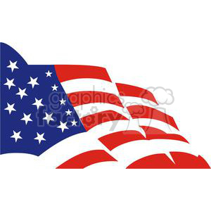 300x300 Royalty Free 2716 Usa Flag Stars And Stripes 379824 Vector Clip