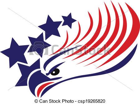 450x336 American Flag Eagle Clip Art