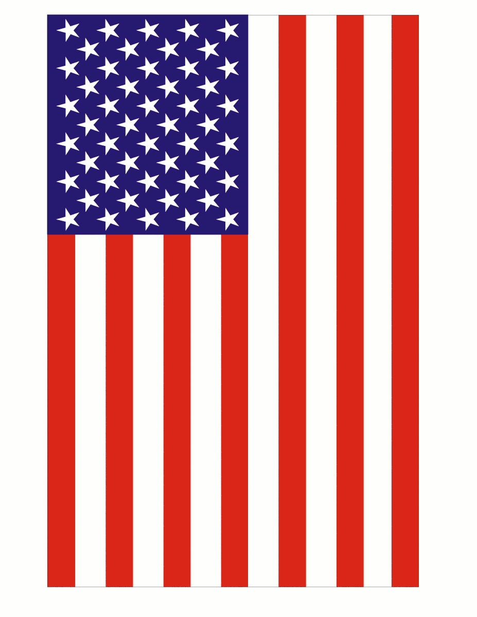 927x1200 American Flag Clip Art Black And White