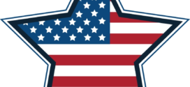 272x125 Free American Flags Clipart 12
