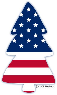236x393 American Flag Clipart Tree