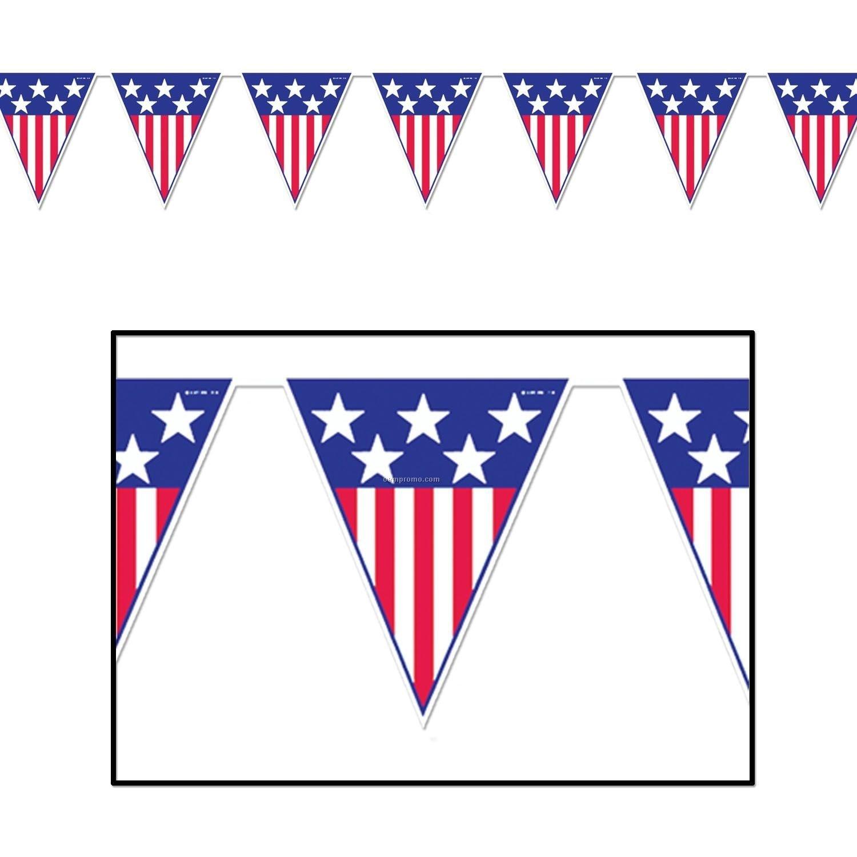 1500x1500 American Flag Banner Clip
