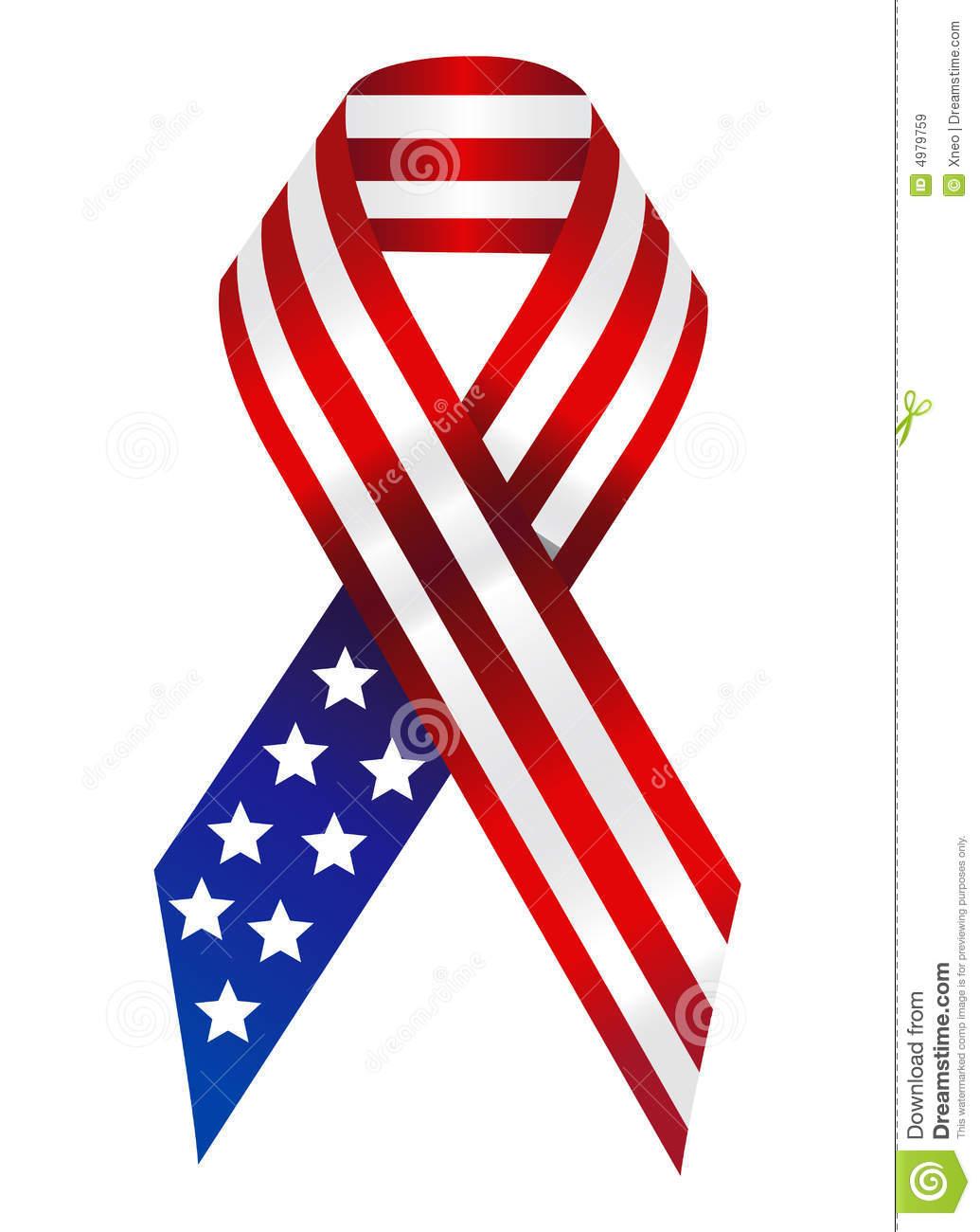 1035x1300 Ribbon Clipart Flag
