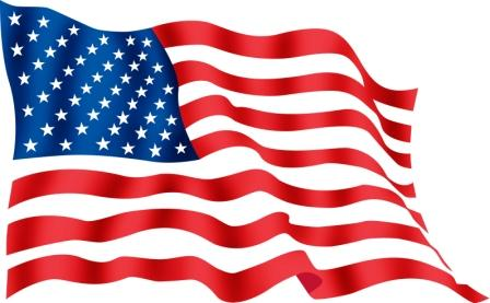 448x277 American Flag Clip Art Waving Free Clipart Images