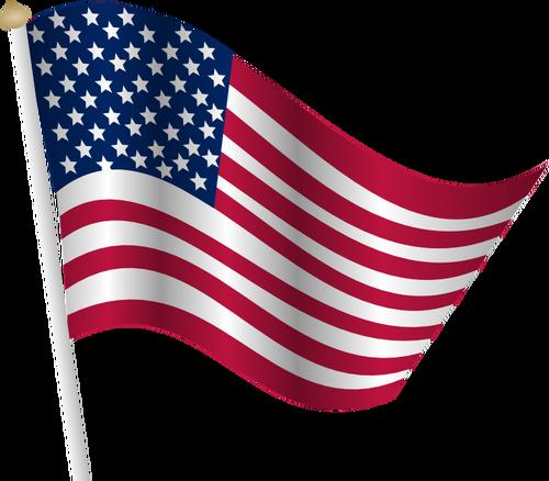500x438 Car Silhouette With American Flag Public Domain Vectors