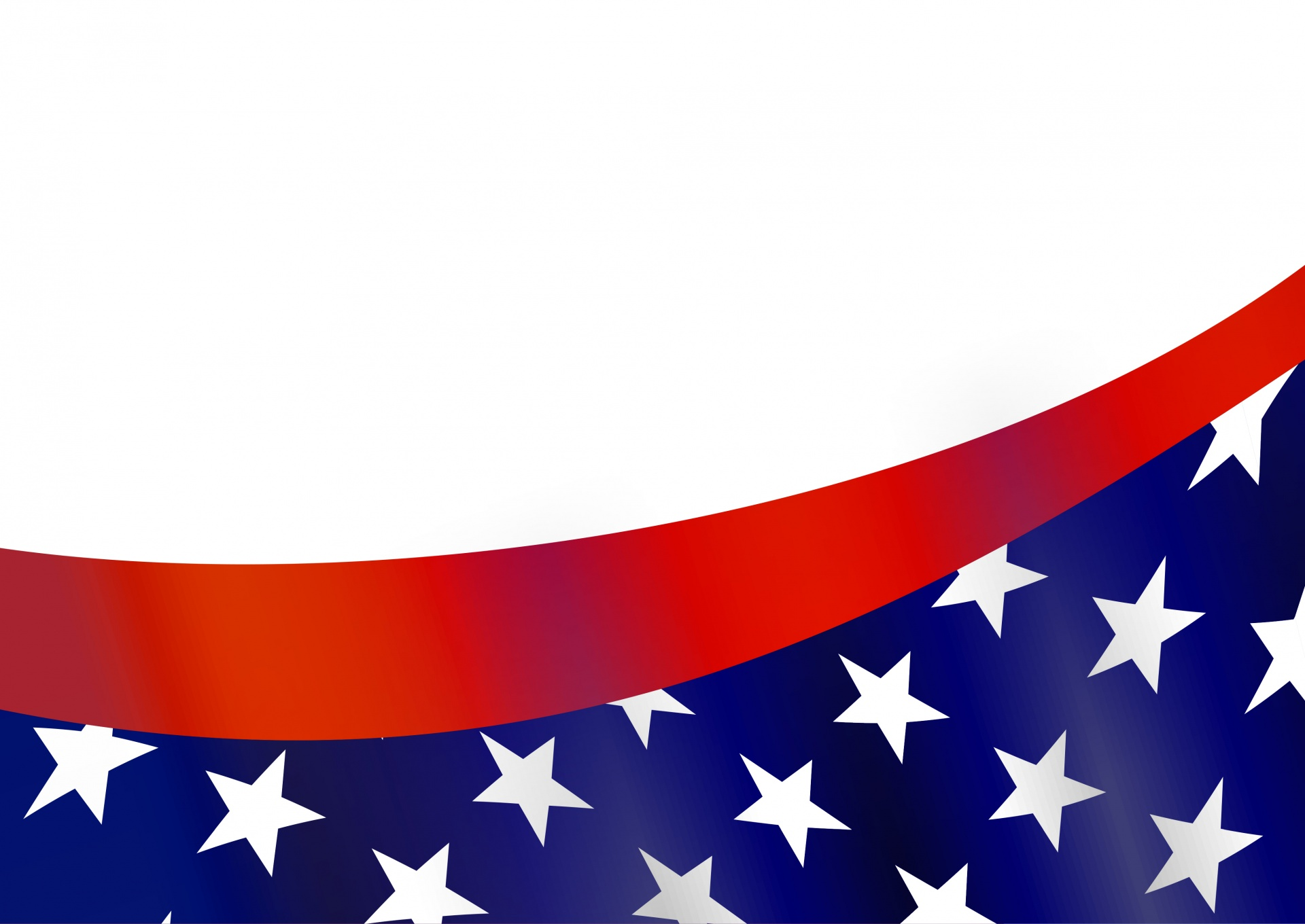 1920x1360 American Flag Border Free Stock Photo