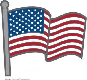 300x274 Marvelous Design Inspiration American Flag Clip Art Free Flags
