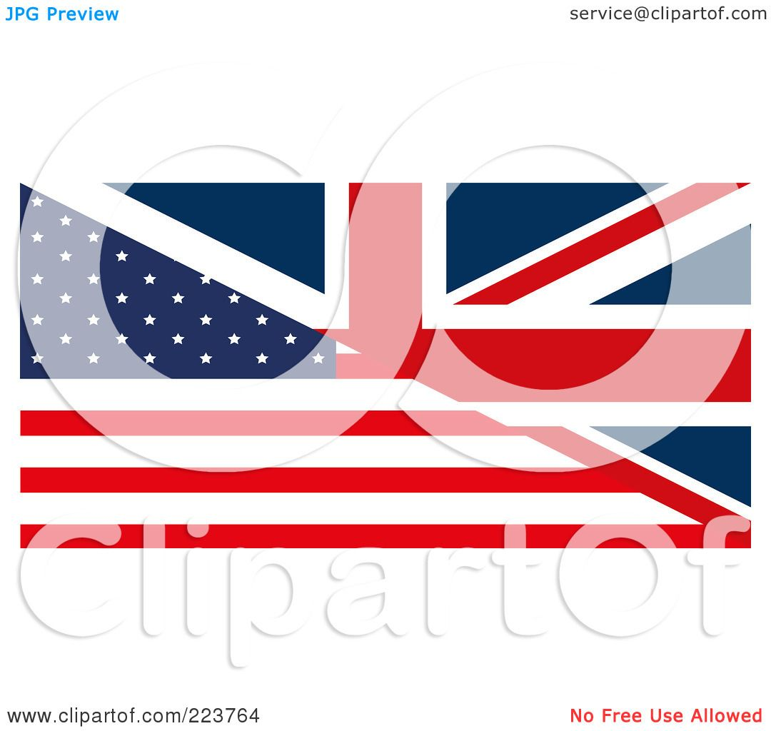 1080x1024 Royalty Free (Rf) Clipart Illustration Of A Half United Kingdom
