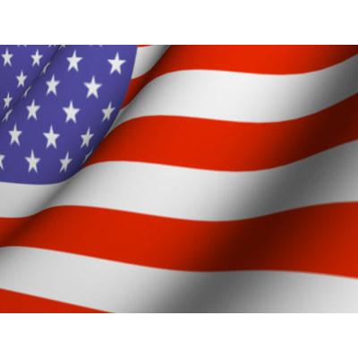 400x400 American Flag Border Clip Art Image