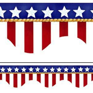 300x300 Free Clipart Border American Flags