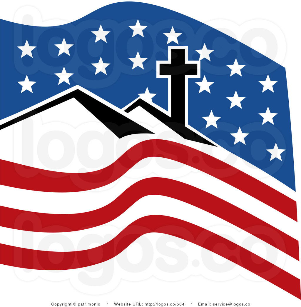 1024x1044 American Flag Clip Art