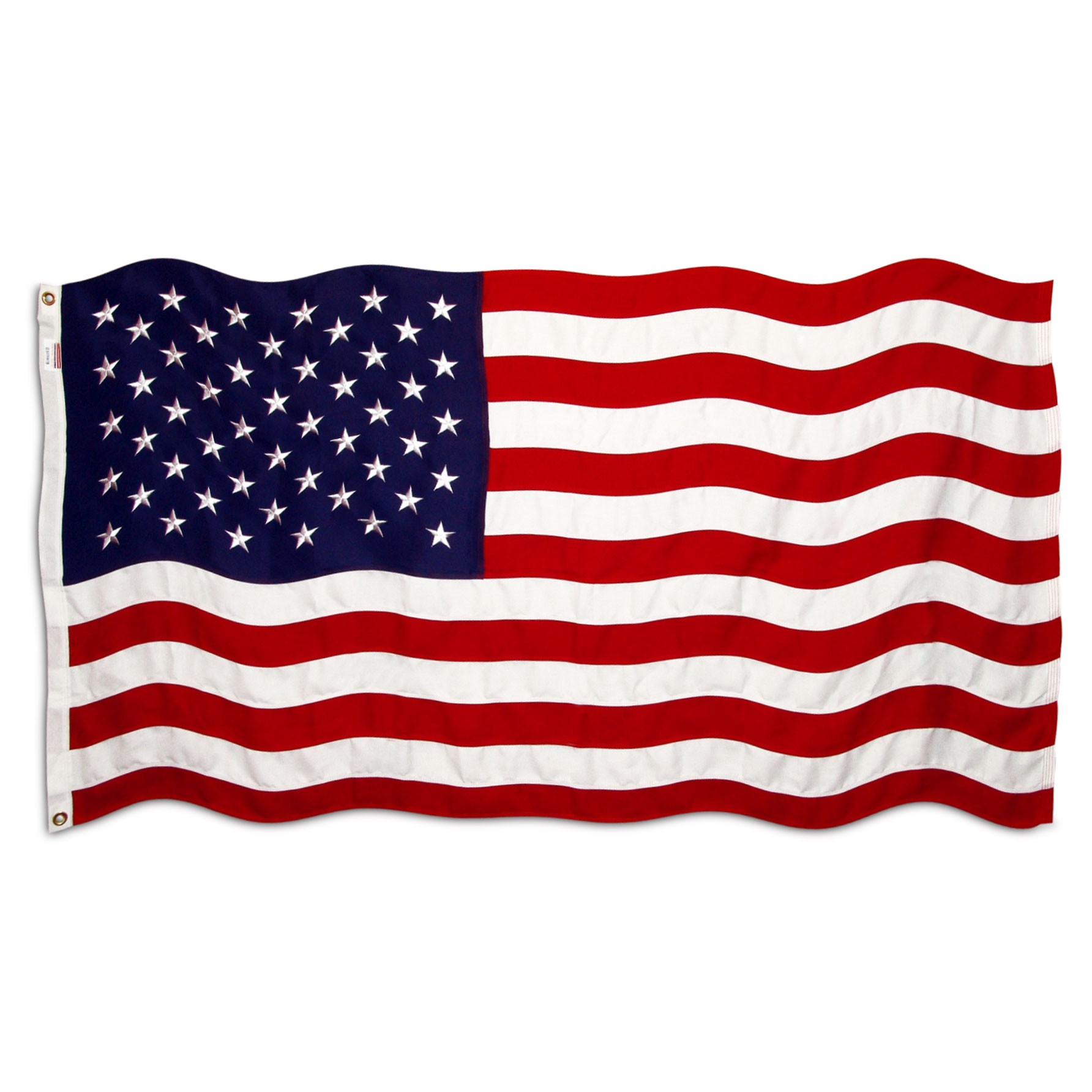 1784x1784 American Flag 3ft X 5ft Sewn Polyester
