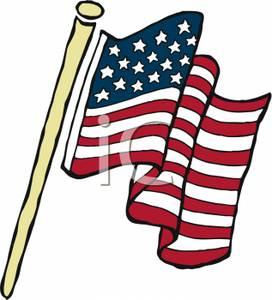 272x300 American Flag On A Pole