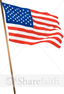263x388 Flag Clipart American Flag Pole