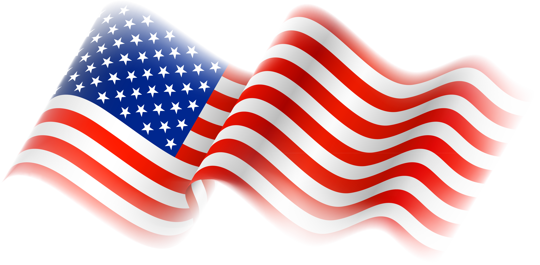 4292x2113 Free American Flag Clipart 2