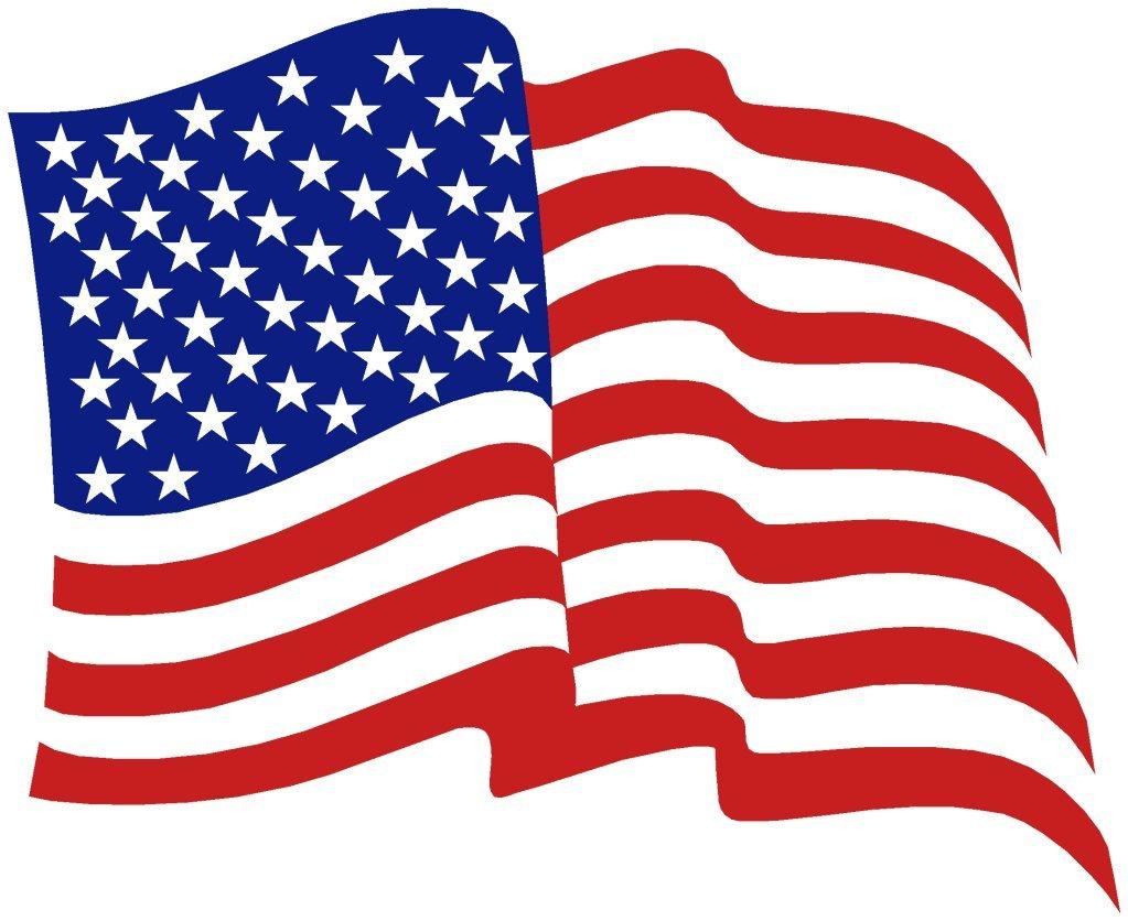 1023x836 Free American Flag Clipart Clipartix