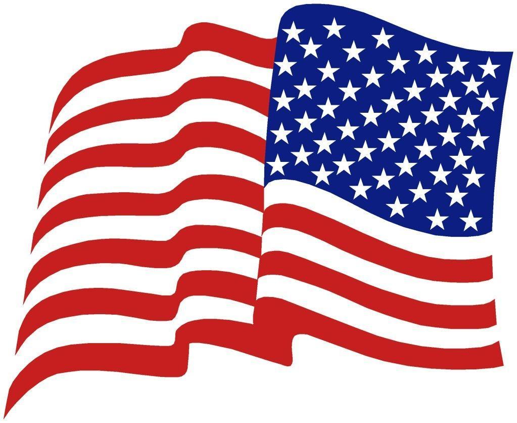 1023x836 Hd American Flag Vector Clip Art Drawing