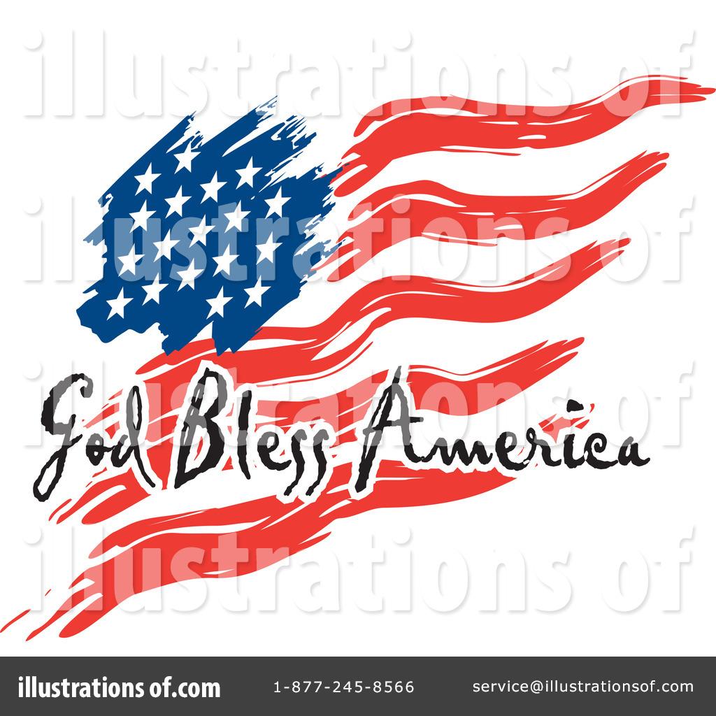 1024x1024 American Flag Clipart