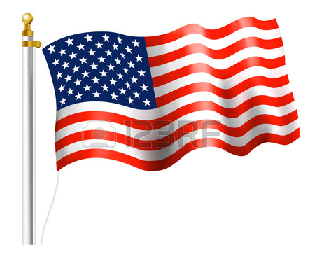 450x383 America Flag In Word Royalty Free Cliparts, Vectors, And Stock