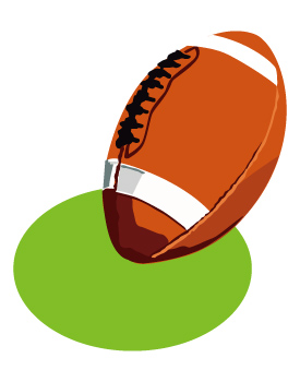 275x350 Free American Football Clipart