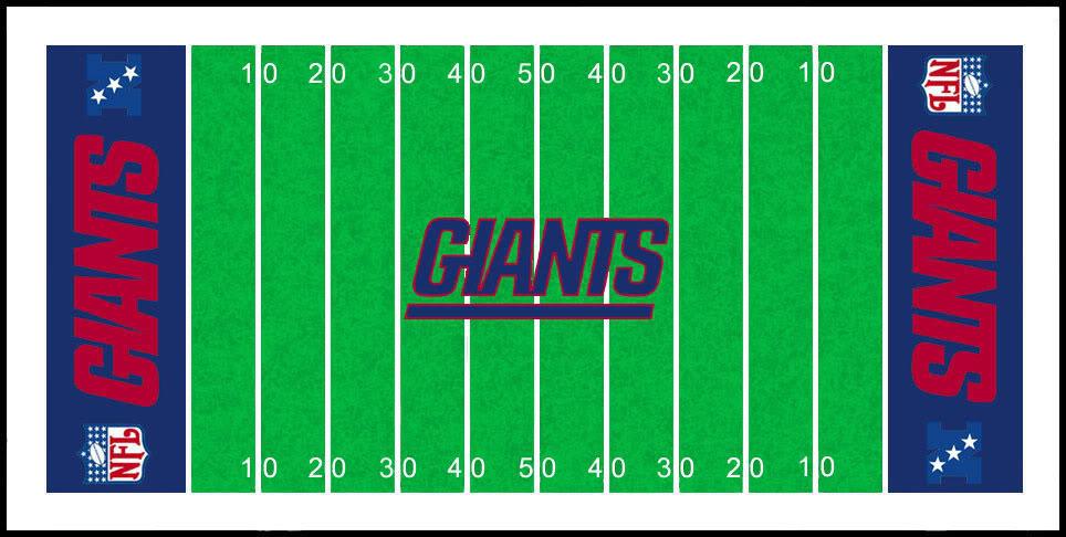 964x486 Football Field Clipart