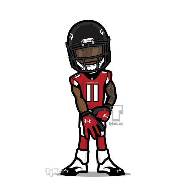 600x600 Receiver Clipart Nfl Player