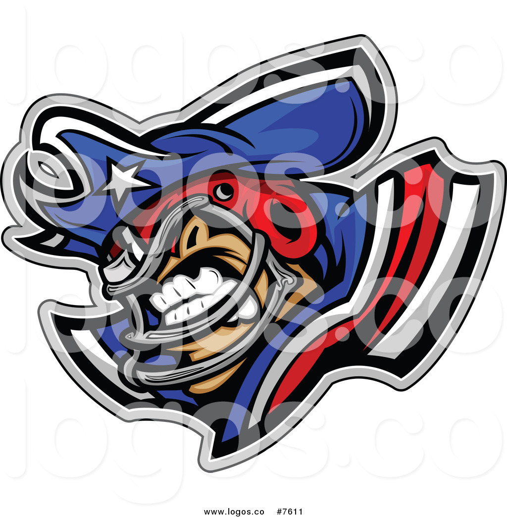 1024x1044 Royalty Free Clip Art Vector Logo Of A Competitive Patriot