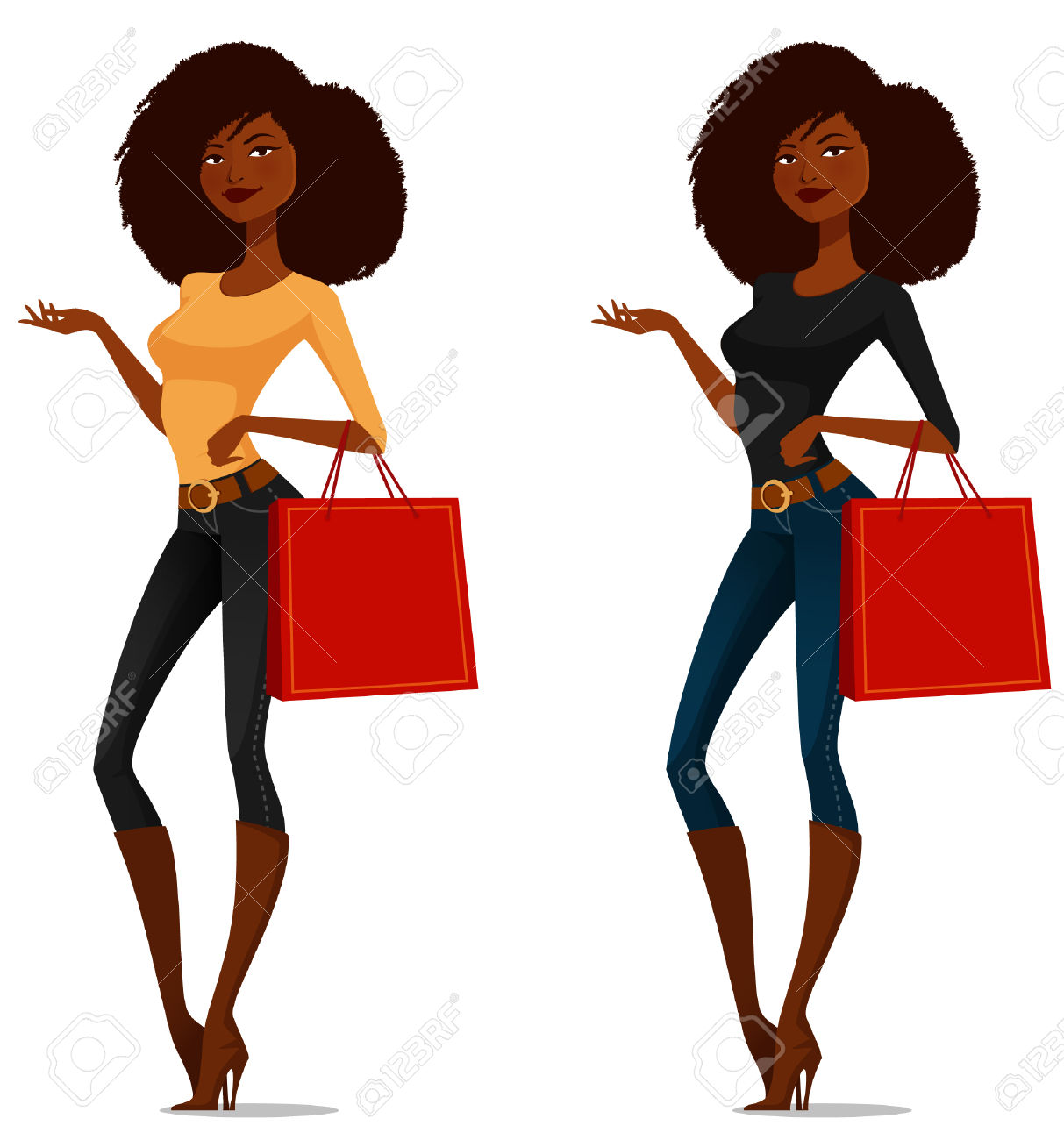 1213x1300 Model Clipart African American Woman