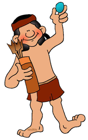 352x560 Native American Boy Clipart