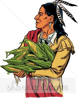 309x388 Native American Clip Art