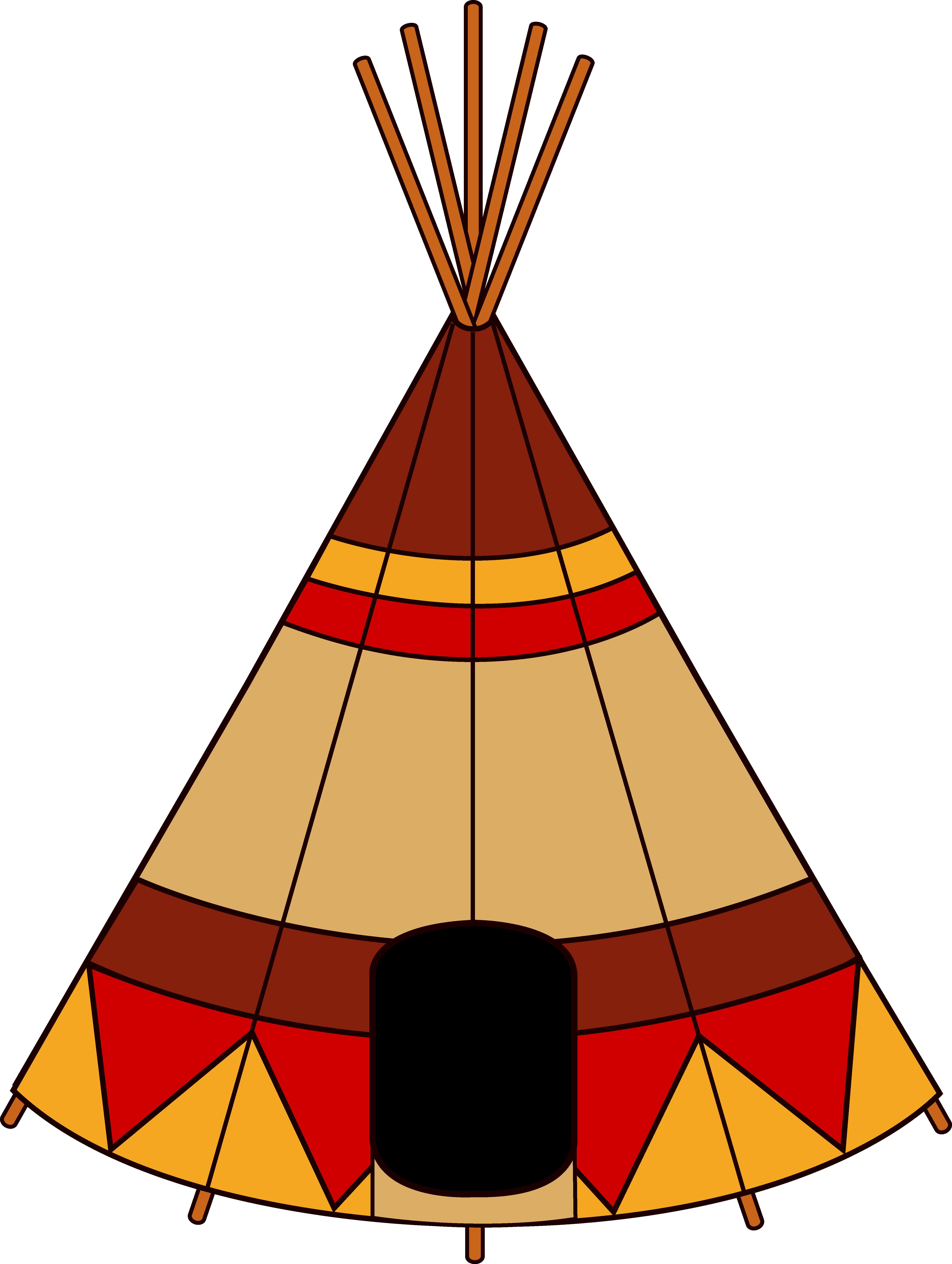 5051x6705 Native American Teepee