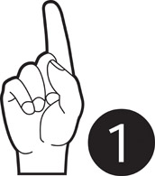 172x195 Free American Sign Language Clipart