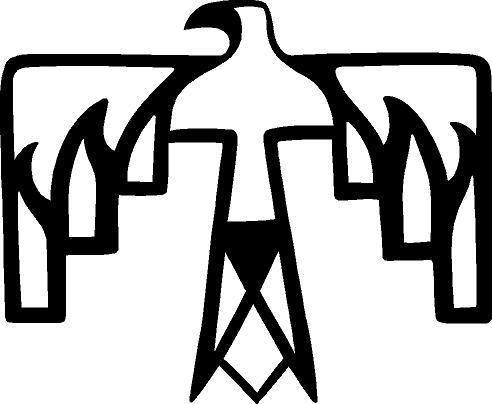 492x404 Native American Symbols Clip Art