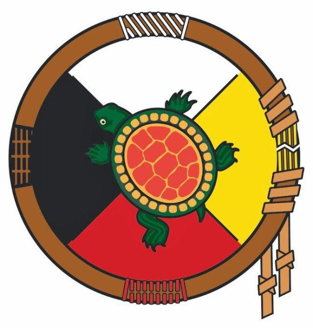 640x670 Native America Indian Symbol Clipart In Color