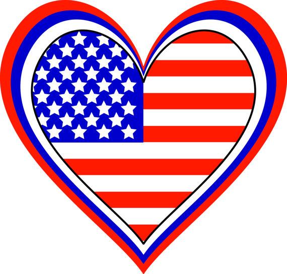 570x544 American Flag Clipart Patriotic Clip Art American Flags