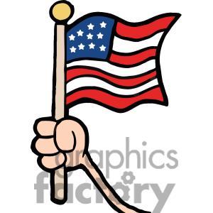 300x300 American Flag Clipart American Symbol