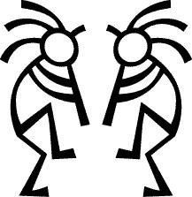 217x223 American Indian Designs Clip Art