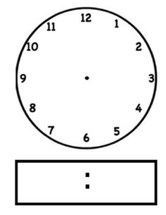 Analog Clock Clipart | Free download on ClipArtMag
