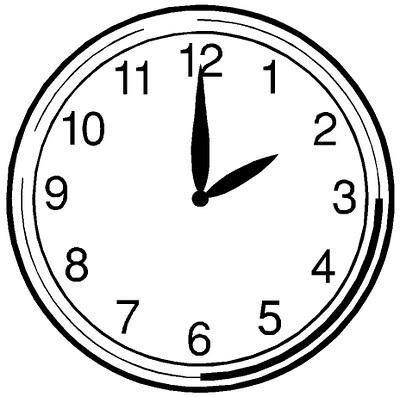 Analog Clock Clipart