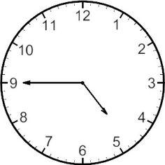 236x236 Free Analog Clock Clip Art Teaching