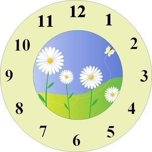 Analog Clock Without Hands Clipart Free Download Best