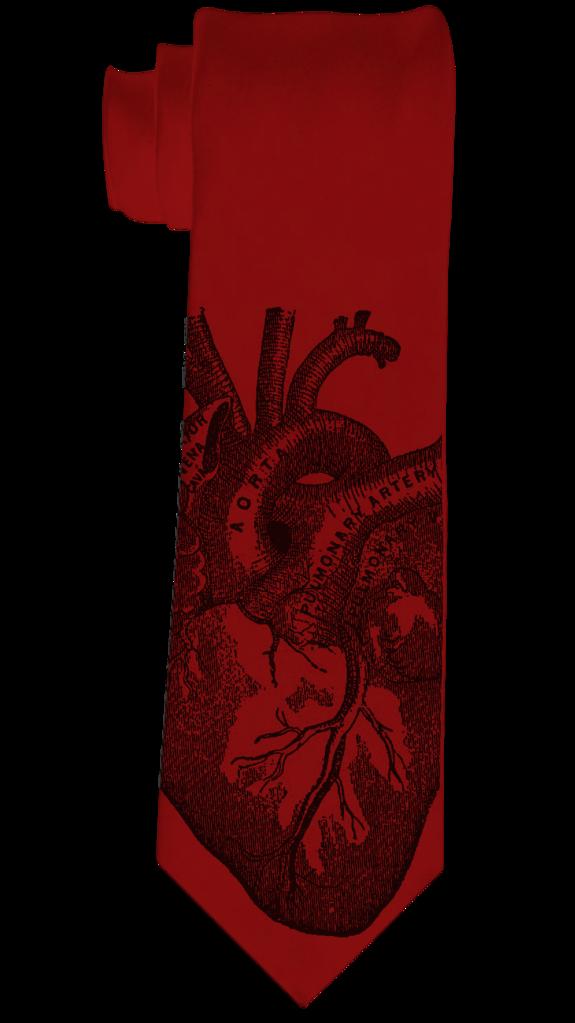 575x1023 Heart Necktie