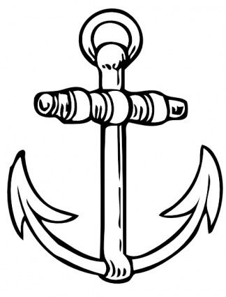 324x425 Best Anchor Clip Art Ideas Anchor, Anker Tattoo