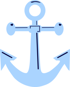 240x298 Unfinished Anchor Clip Art