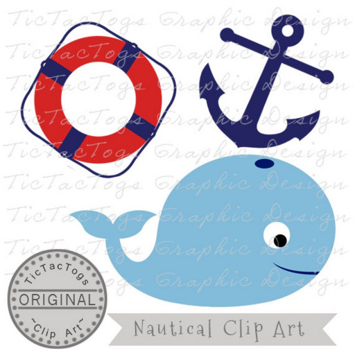 512x512 Whale Clipart Anchor