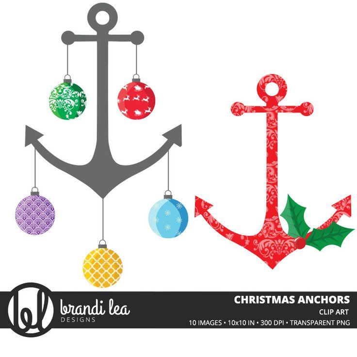 736x736 Nautical Christmas Clipart