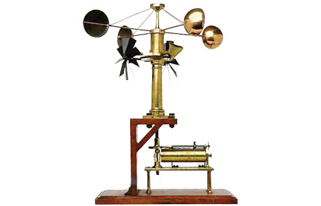 464x298 Anemometer Clipart