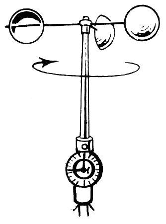 334x451 Anemometer Measure Wind Speed